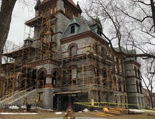 Old Hampshire County Courthouse building breaks ground on historic restoration